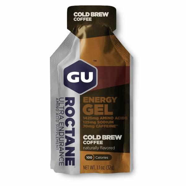 GU Roctane Energy Gel single - cold brew 2500